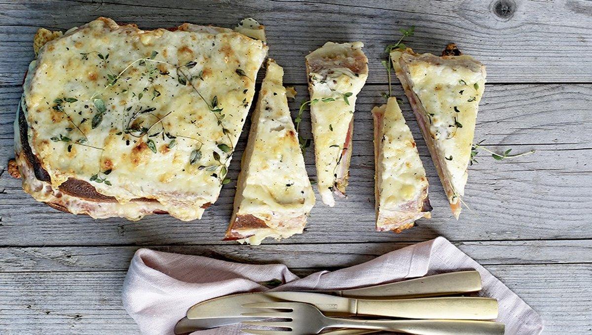 Ostabreyð - toast til fleiri