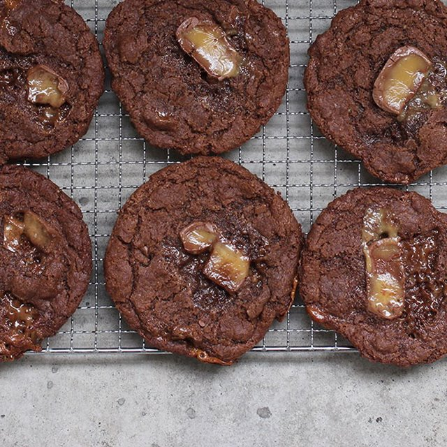 Cookies við karamel